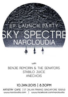 Narcloudia - EP CD Launch